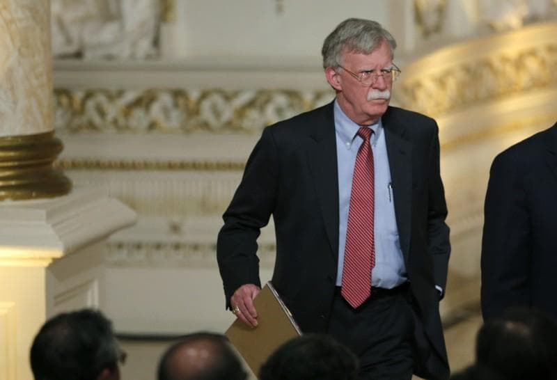 Bolton: 'Regime change' in Iran not policy of Trump administration