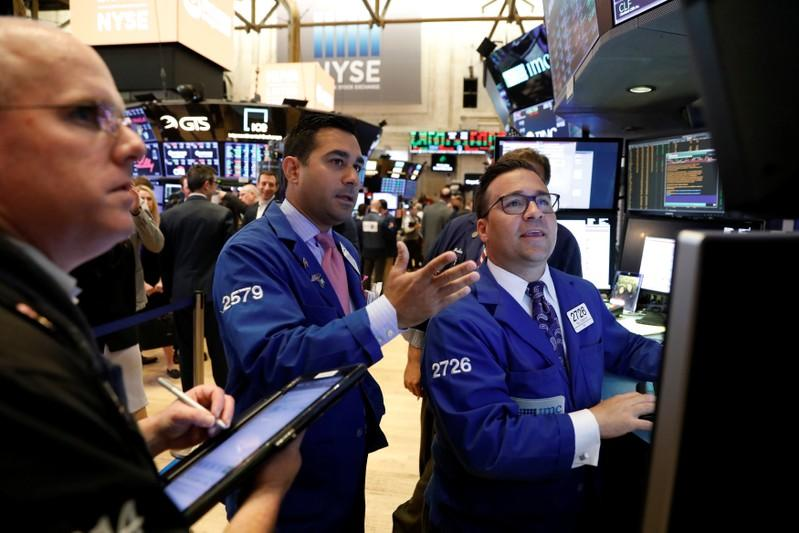 Wall Street pares gains as defensive stocks offset trade optimism