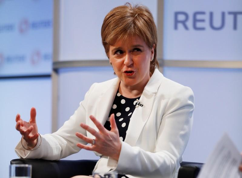 Scotland's Sturgeon warns of 'catastrophic' no deal Brexit