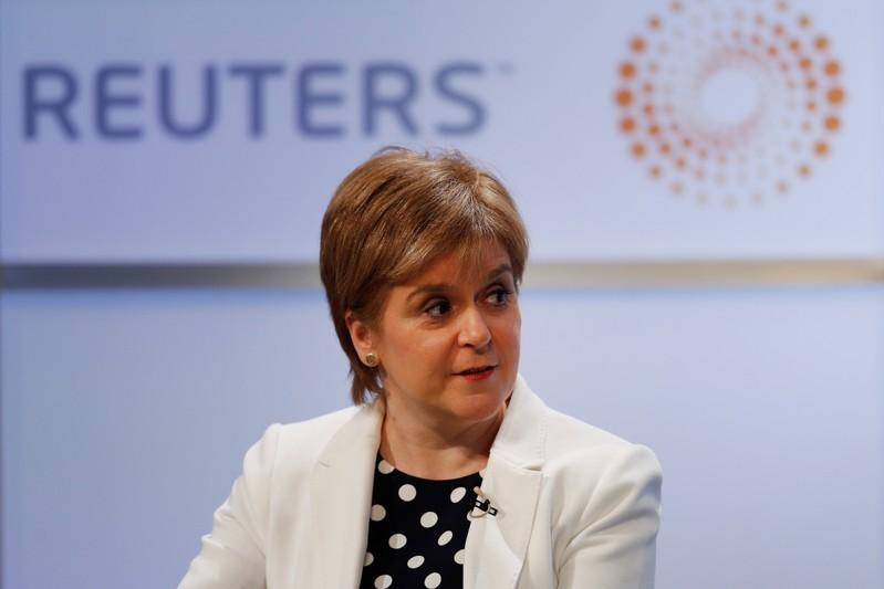 Scotland's leader quips about Donald Trump's penchant for Irn Bru