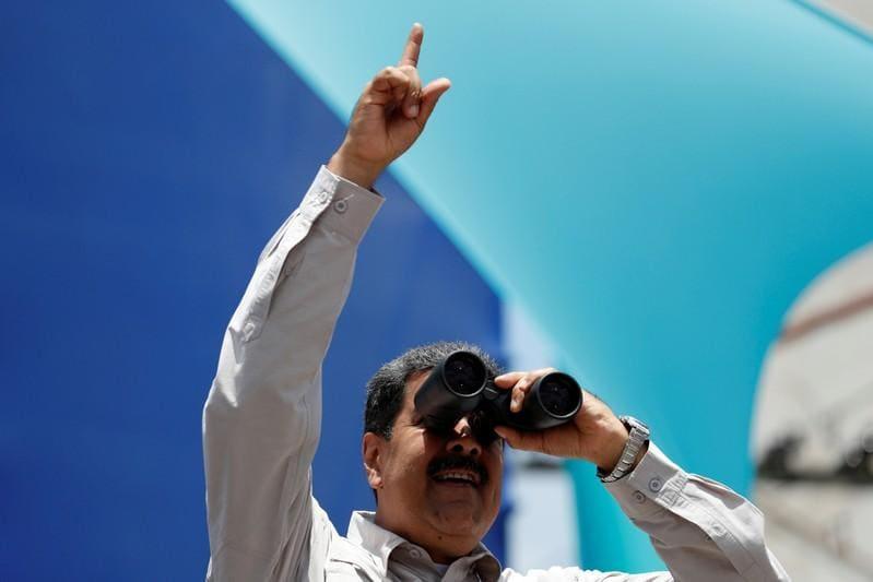 Maduro vows economic change for Venezuela's 'rebirth' before vote