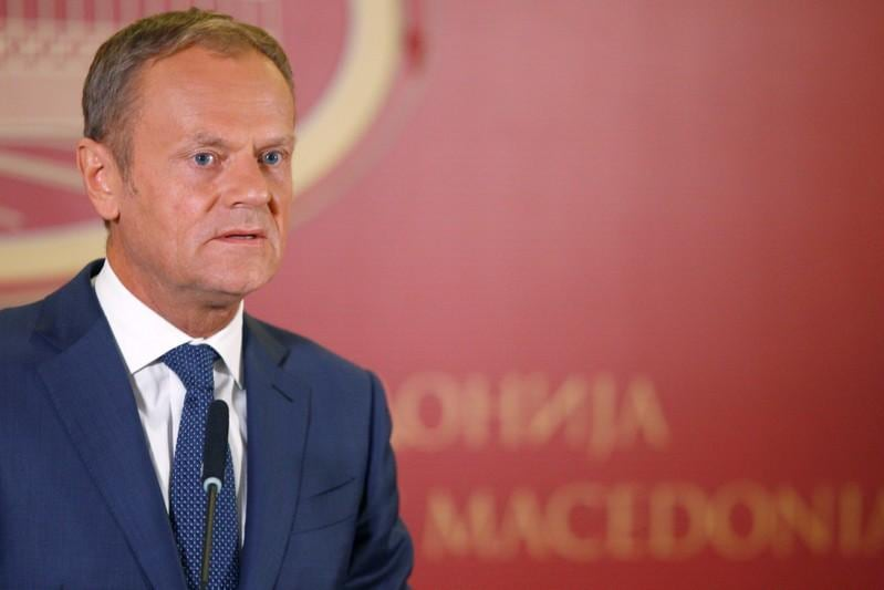 EU's Donald Tusk takes aim at Donald Trump over Iran, steel sanctions