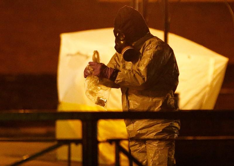 Decontamination of shopping centre after nerve agent attack on Russian spy completed