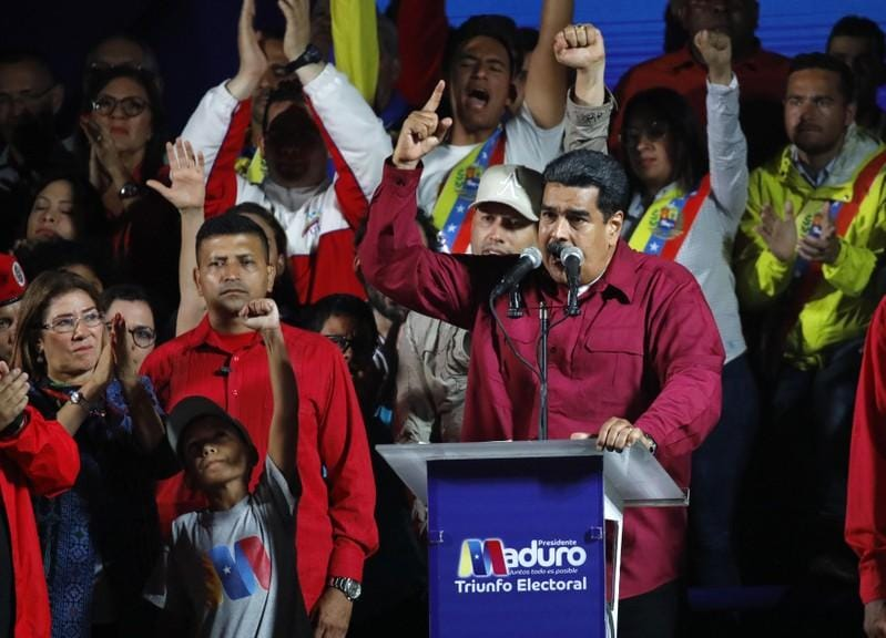 Venezuela calls post-election U.S. sanctions a crime against humanity