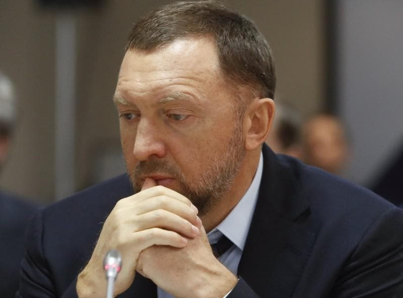 Rusal says Deripaska has not formally resigned