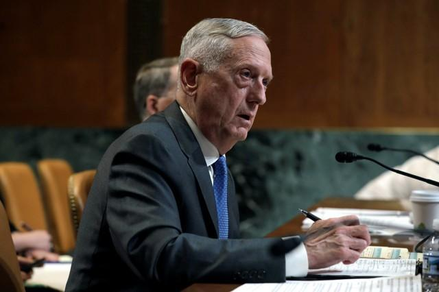 Jim Mattis says US will continue operations in South China Sea, despite Beijing anger