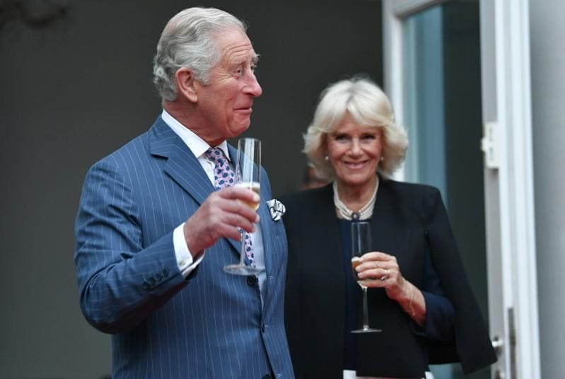 Britains Prince Charles: joyous to have another grandson