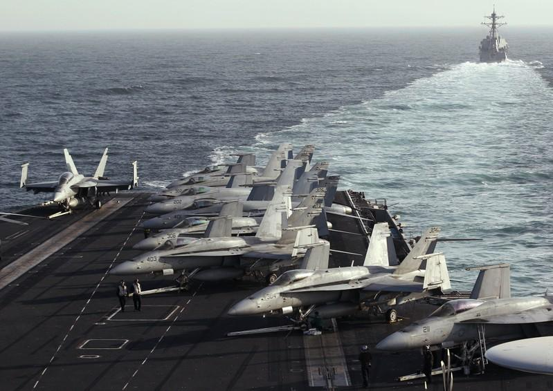 U.S. commander says he could send carrier into Strait of Hormuz despite Iran tensions