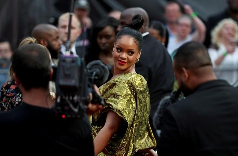 LVMH pairs up with Rihanna for new fashion brand