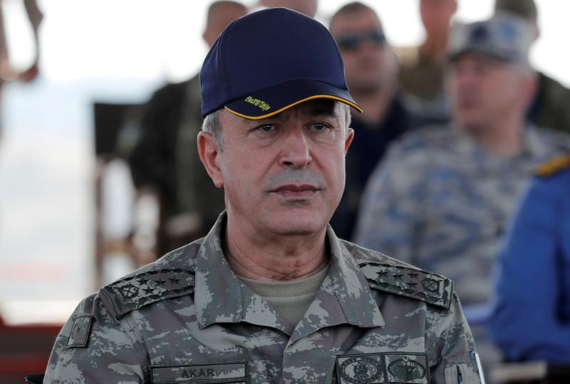 Turkish defence minister says Syrian forces must halt attacks in northwest Syria