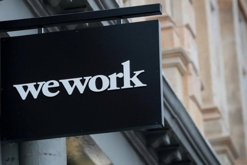 WeWork parent loses 4 million in quarter, sales to corporate customers rise