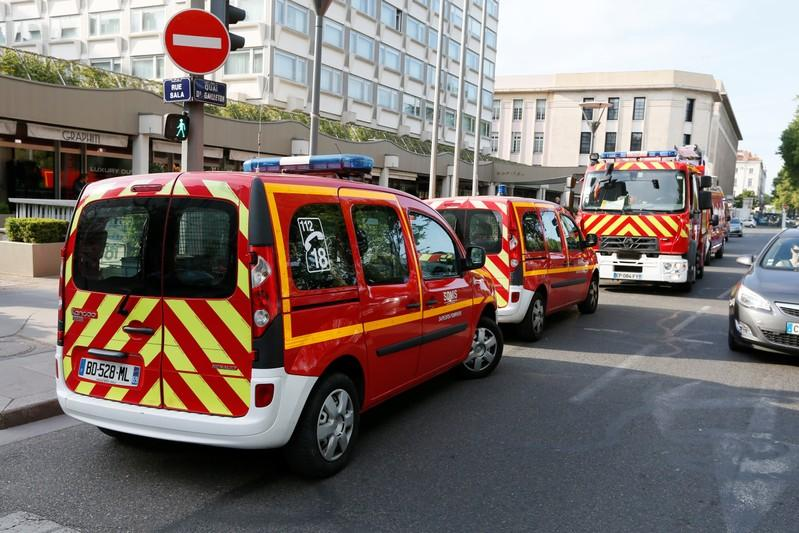 At least eight injured by suspected bomb blast in Lyon