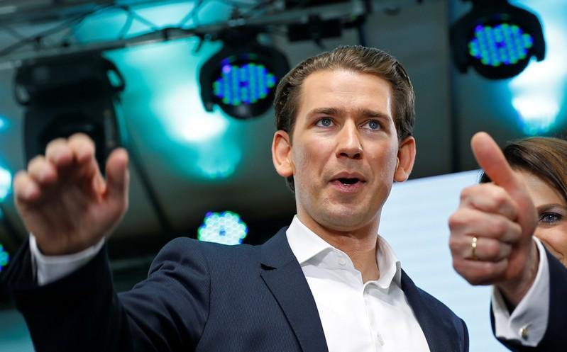Austrian EU vote helps Kurz in fight to keep job, projection suggests