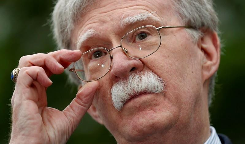 Trumps national security adviser John Bolton arrives in UAE for talks