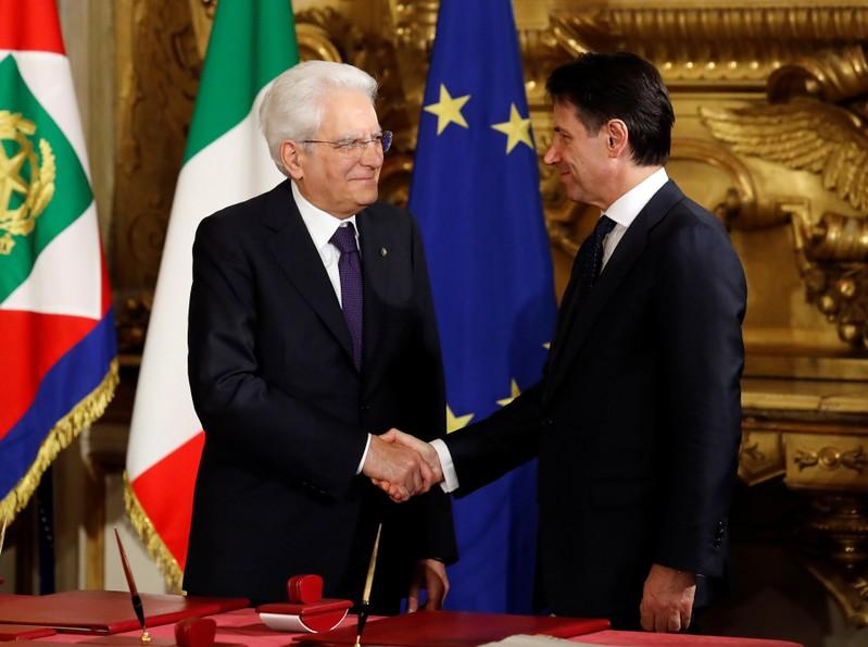 Italy's Conte sworn in as PM of anti-establishment government