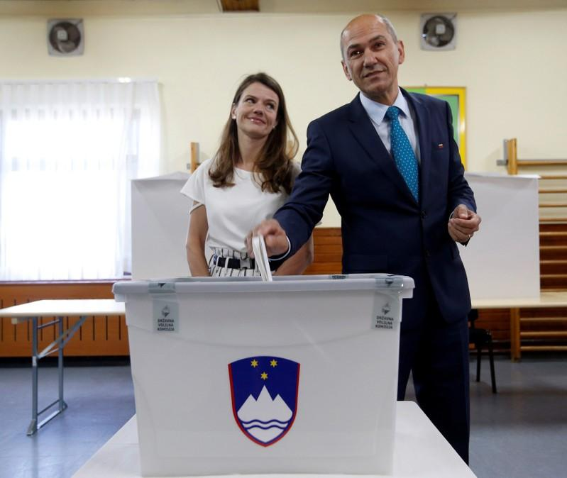 Opposition SDS party ahead in Slovenia election - partial result