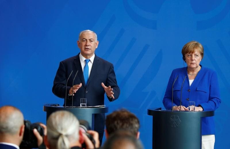 Iran could unleash new refugee wave, Netanyahu tells Berlin