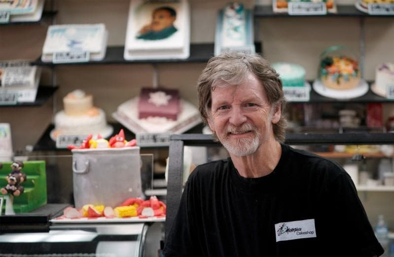 U.S. Supreme Court backs Christian baker who rebuffed gay couple