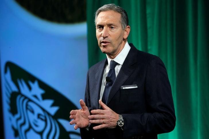 Starbucks investors mourn end of an era as Schultz exits