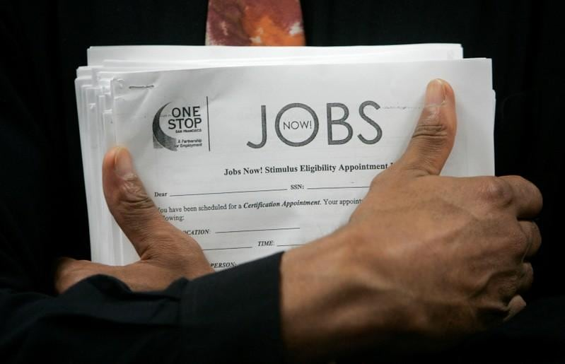 U.S. services sector activity picks up; job openings at record high