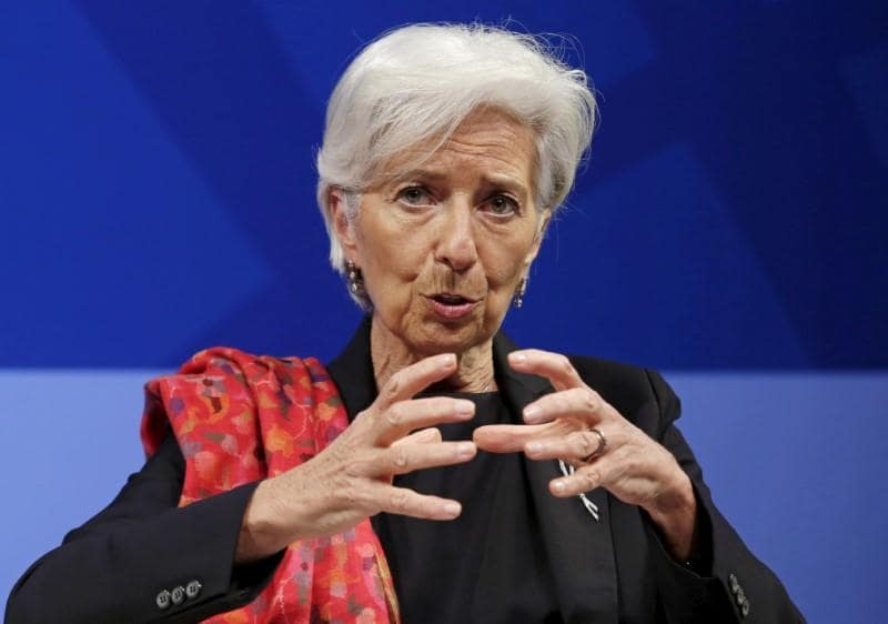 IMF will remain engaged in Greece, Lagarde says