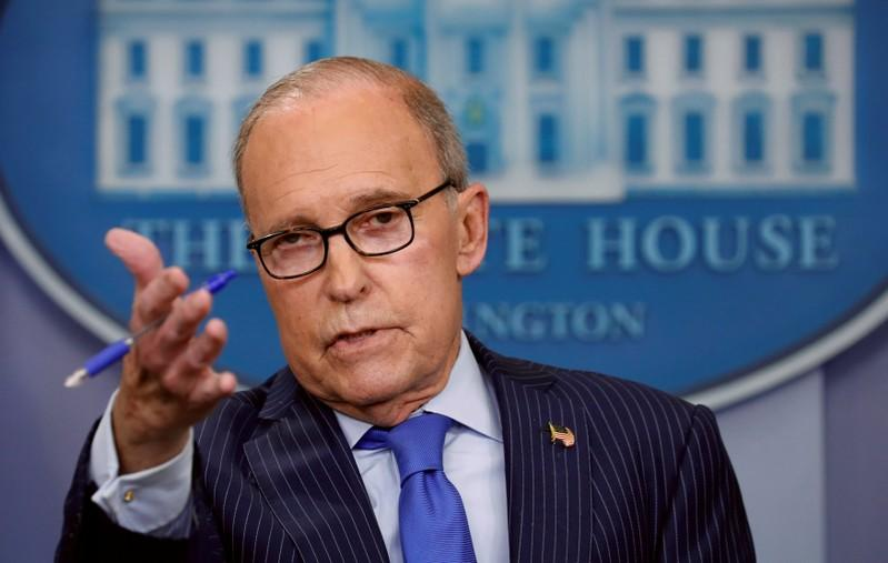 White House economic adviser Kudlow suffers heart attack - Trump