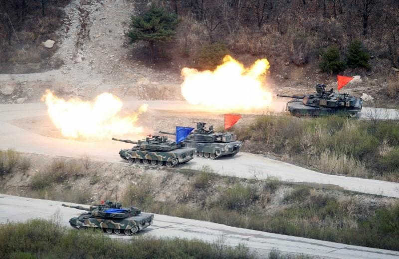 Pentagon weighs future of Korea drills after Trump nixes 'war games'
