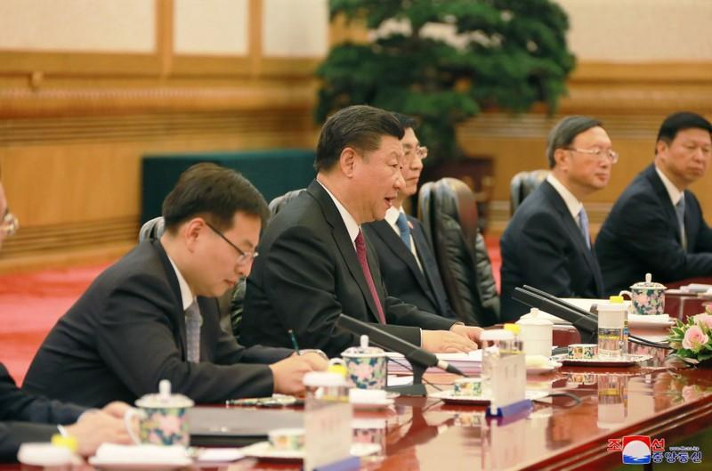 North Korea, China discuss 'true peace', denuclearisation - KCNA
