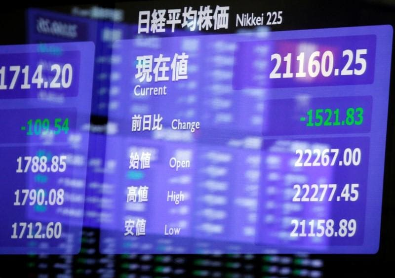 Global shares climb, oil prices jump on OPEC news