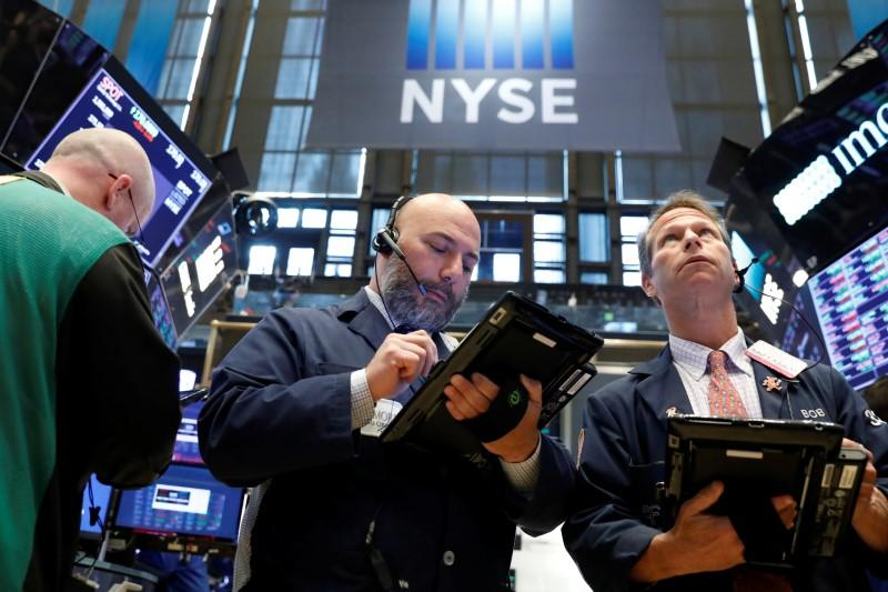 Dow set to snap eight-day losing run as oil climbs