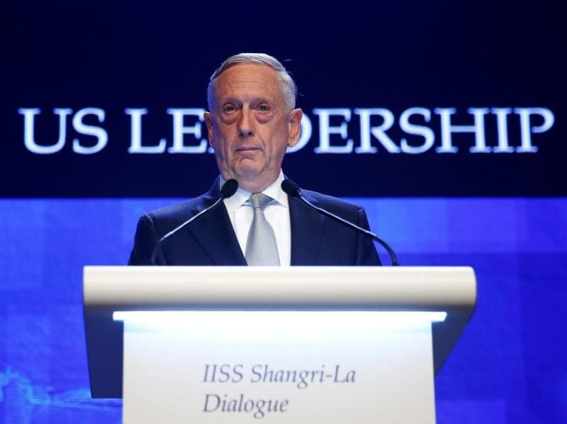'America's got to up its game in the Arctic' - Mattis