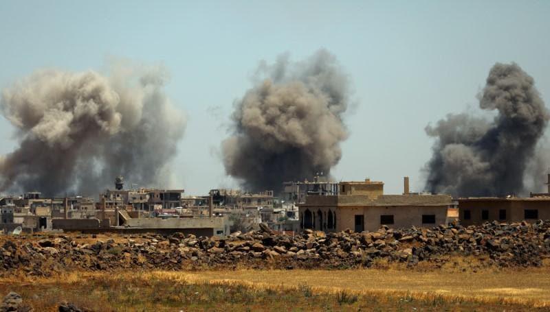 Syria army widens southwest offensive, U.N. says 45,000 flee