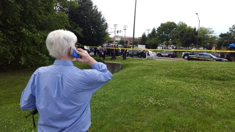 At least 4 people killed in Maryland newspaper office shooting -reports