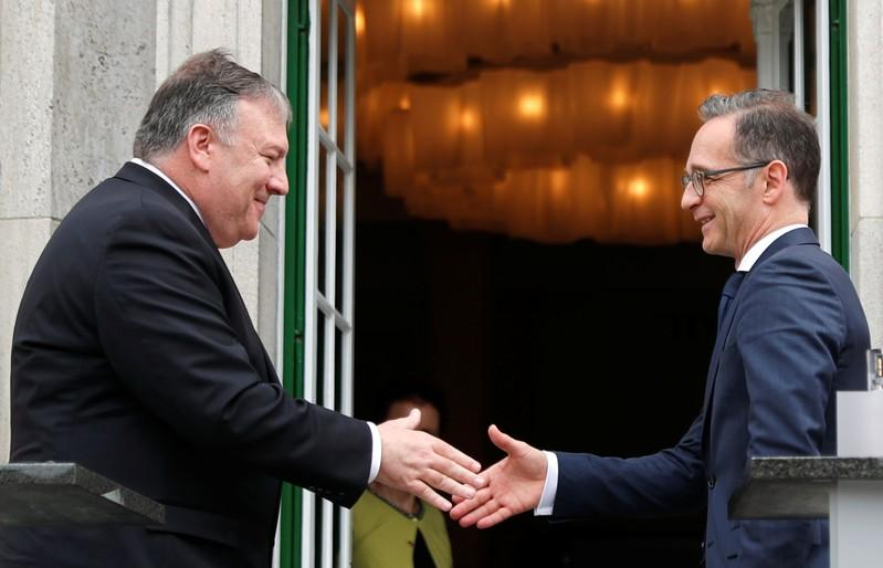 Pompeo tells Germany: Use Huawei and lose access to our data