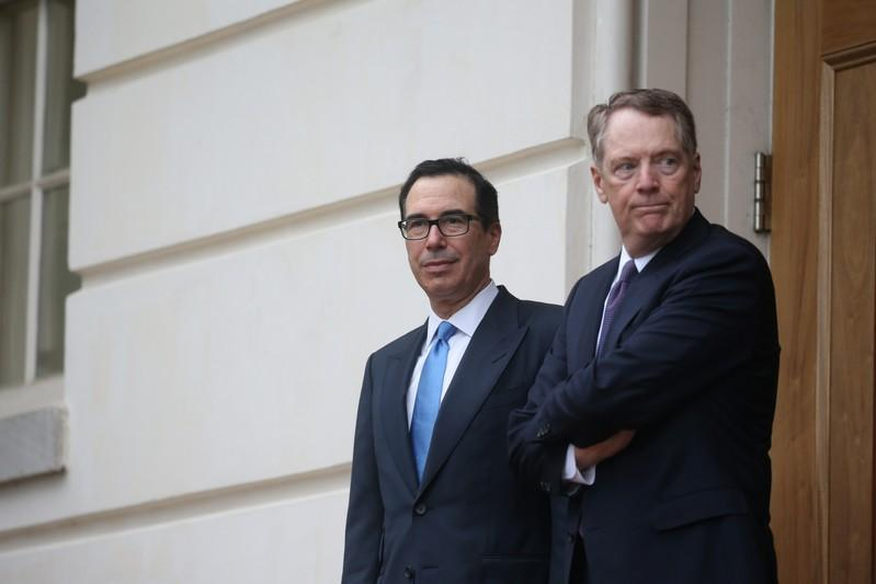 Advisers Lighthizer, Mnuchin opposed Trumps tariffs over immigration - sources