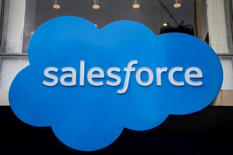 Salesforce forecasts full-year results above expectations, shares rise