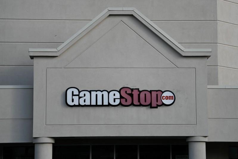 GameStop shares plunge 35% on sales miss, dividend halt