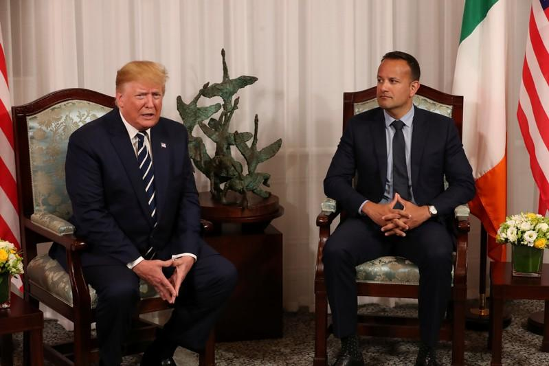 Dont fret, Trump tells nervous Ireland, Brexit will work out very well