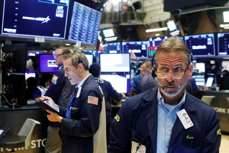 Stocks rally, and yields, dollar fall; data fans rate cut talk