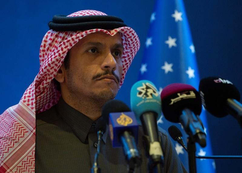 Qatar says U.S. needs Palestinians on board for Middle East peace plan
