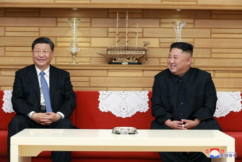 Kim Xi reach consensus to develop relations no matter the intl situation  KCNA