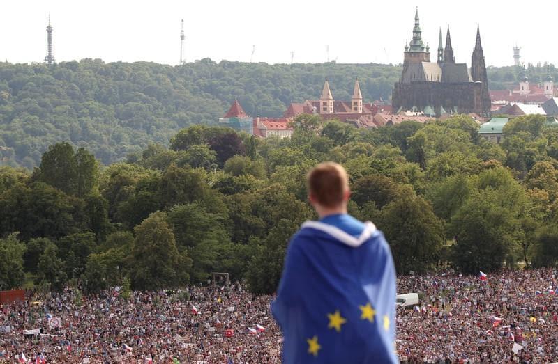 Czechs demand PM Babis quit in biggest protest since communist era