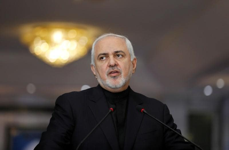 Irans Zarif says quotBTeamquot wants war not diplomacy with Tehran