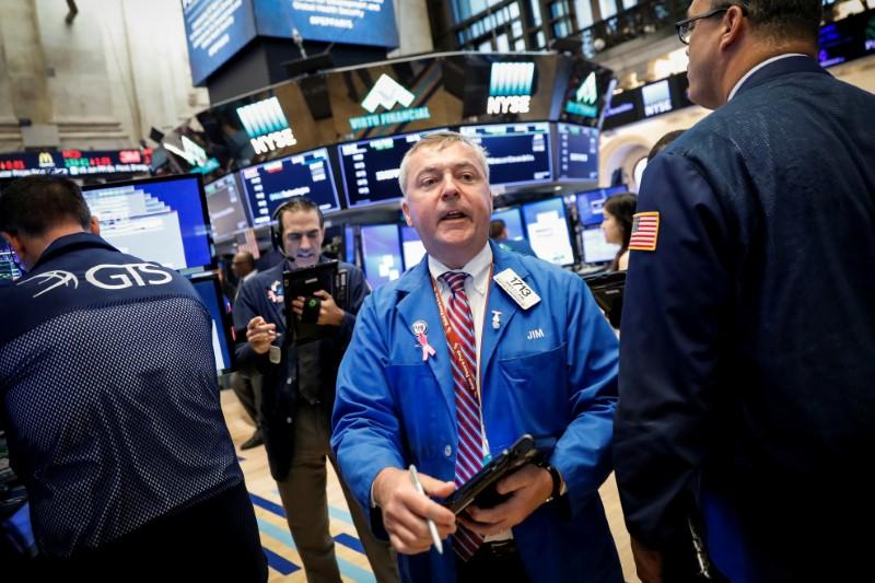 Technology stocks, industrials boost Wall Street