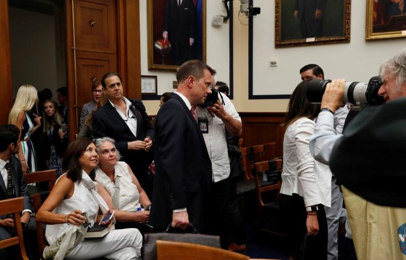 U.S. House Republicans face off with FBI agent at raucous hearing