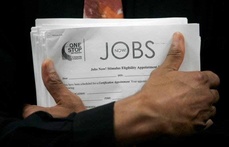 U.S. weekly jobless claims hit more than 48-1/2-year low