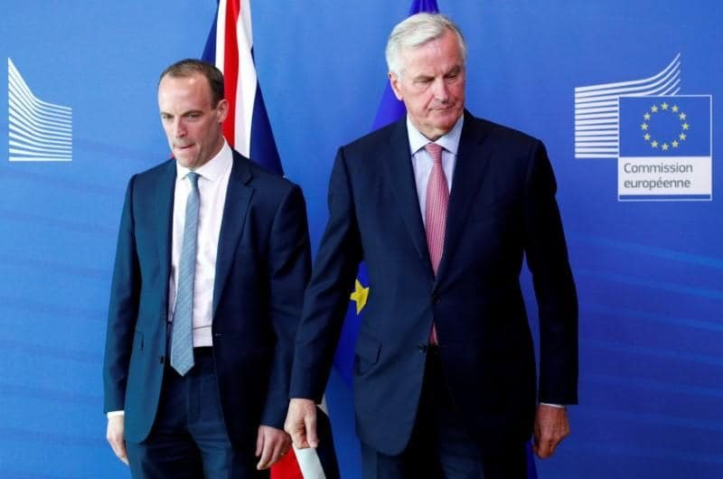 Brace for Brexit crash EU warns as Raab brings vigour and vim
