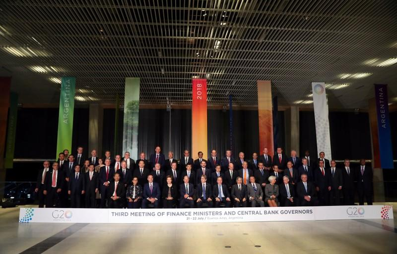 G20 calls for greater dialogue on trade tensions: draft