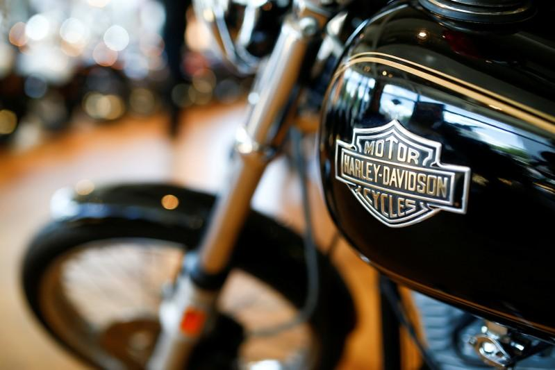 Harley-Davidson's profit beats estimates, shares rally