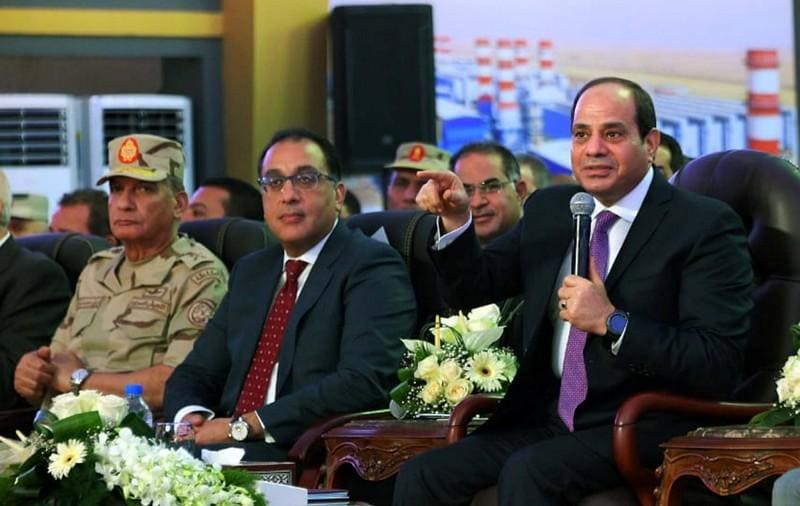 Egypt's Sisi opens power stations in state development drive
